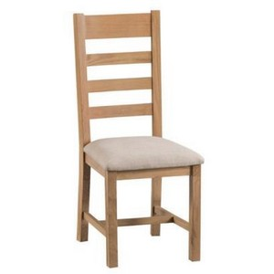 Ladder Back Padded Chair
