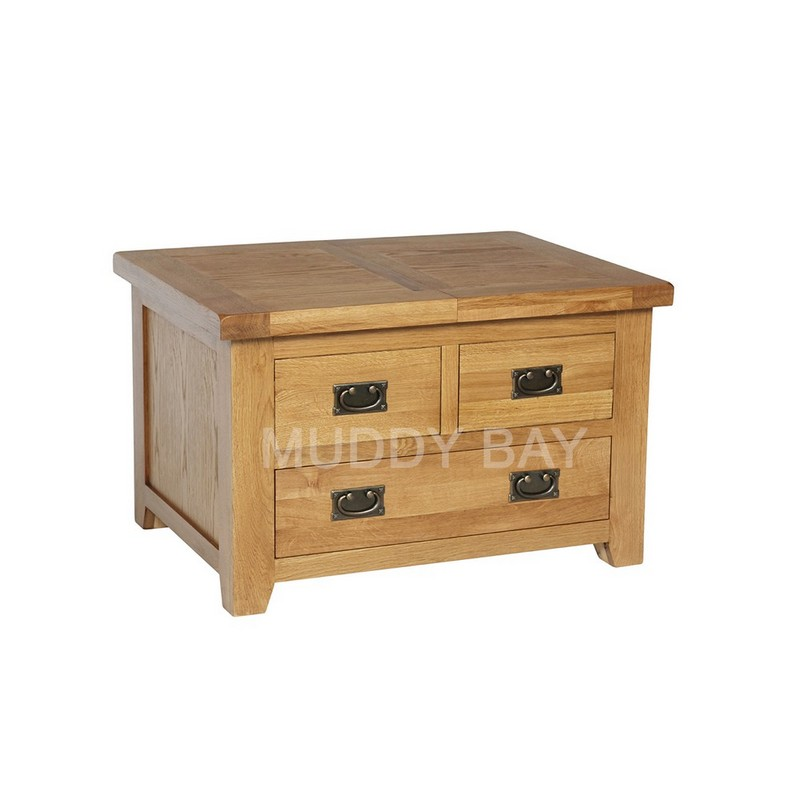 Trent Storage Coffee Table with drawers