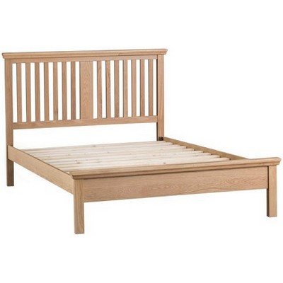 Light Winsor Slatted Bed